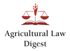 Agricultural Law Digest