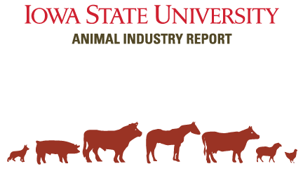 Animal Industry Report